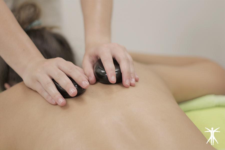 Beneficios de los masajes con piedras