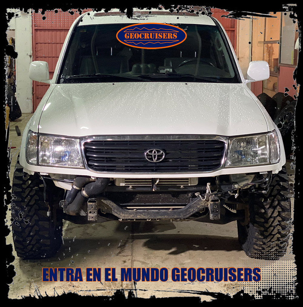 Geocruisers saca defensas para toyota HDJ 100