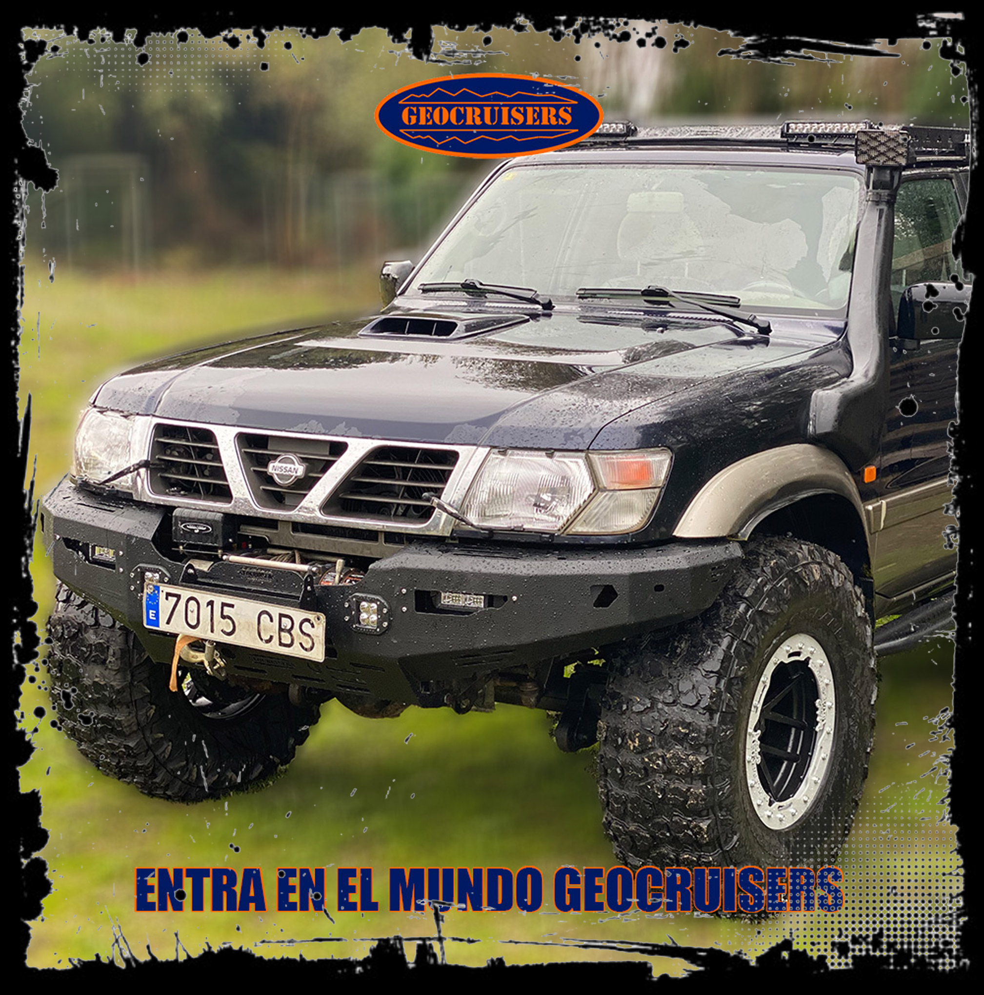 Geocruisers saca defensas para NISSAN PATROL GR Y61