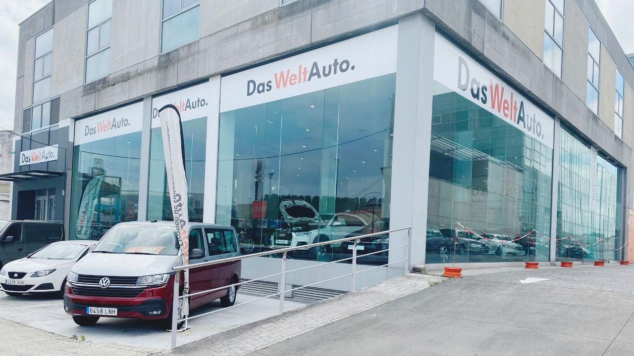 Nuevas instalaciones de vehículos de ocasión en A Coruña