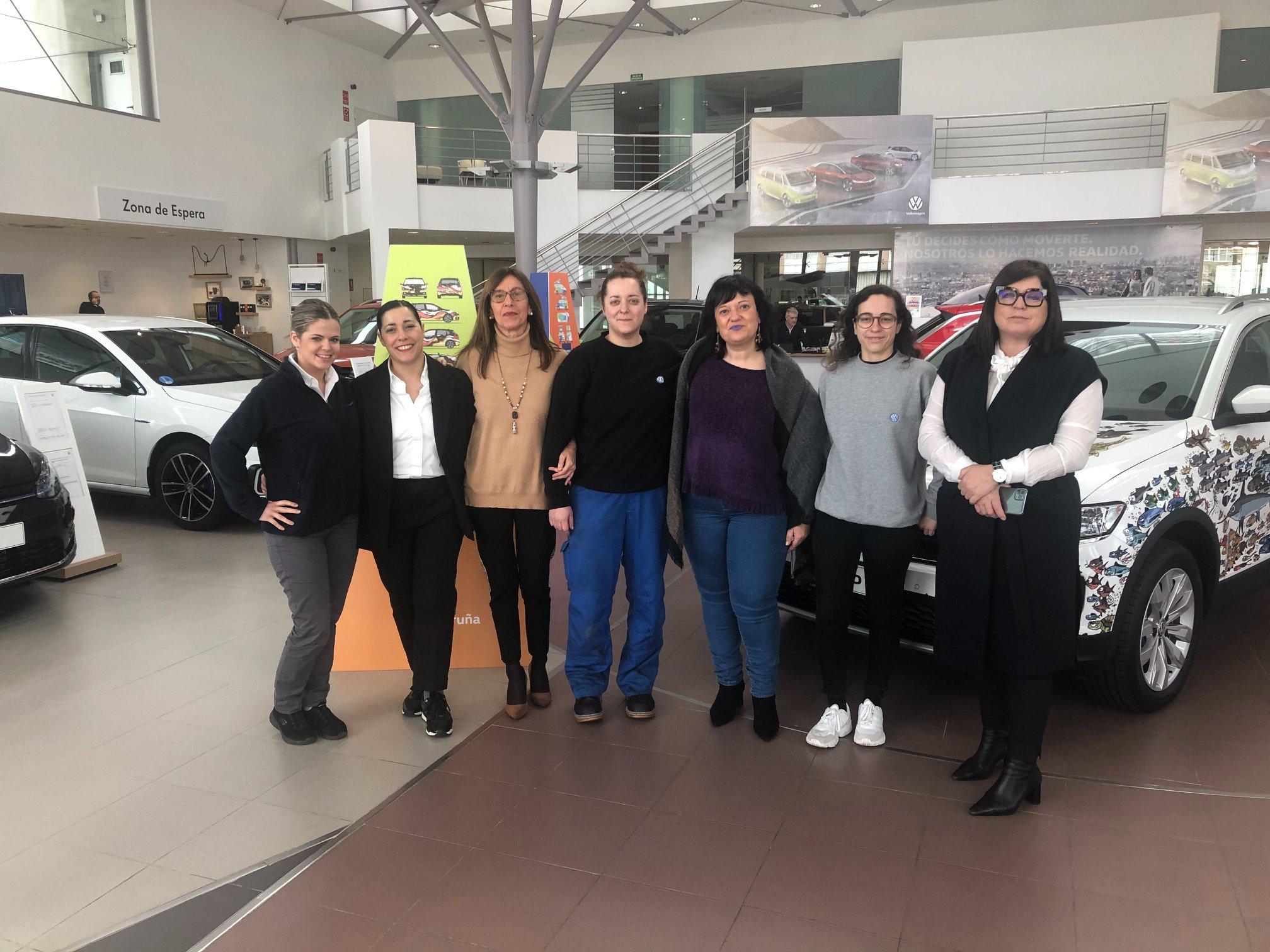 El Grupo Yáñez impulsa la igualdad de oportunidades en todos sus concesionarios