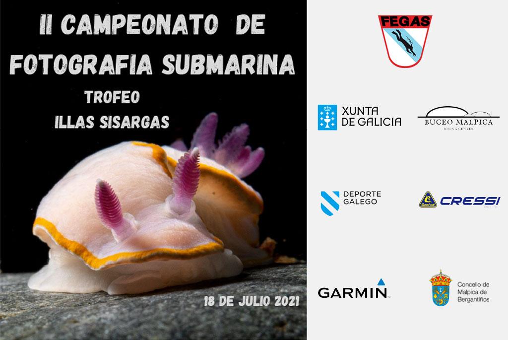 II Campeonato de fotografía submarina - Trofeo Illas Sisargas