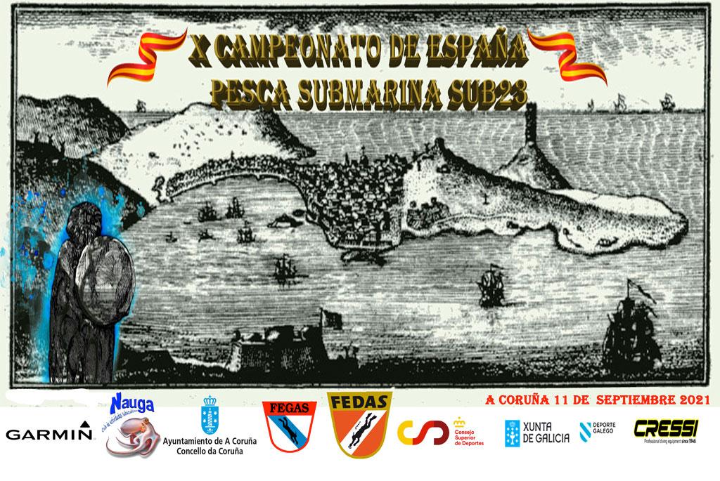 X Campeonato de España de Pesca Submarina Sub-23