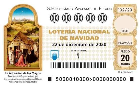 Lotería de Navidad 2020