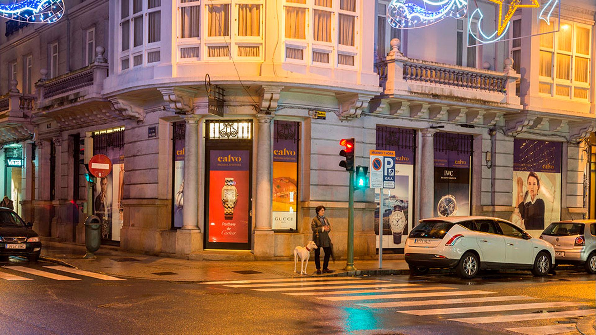 Próximamente Joyería Calvo en La Plaza de Lugo de La Coruña