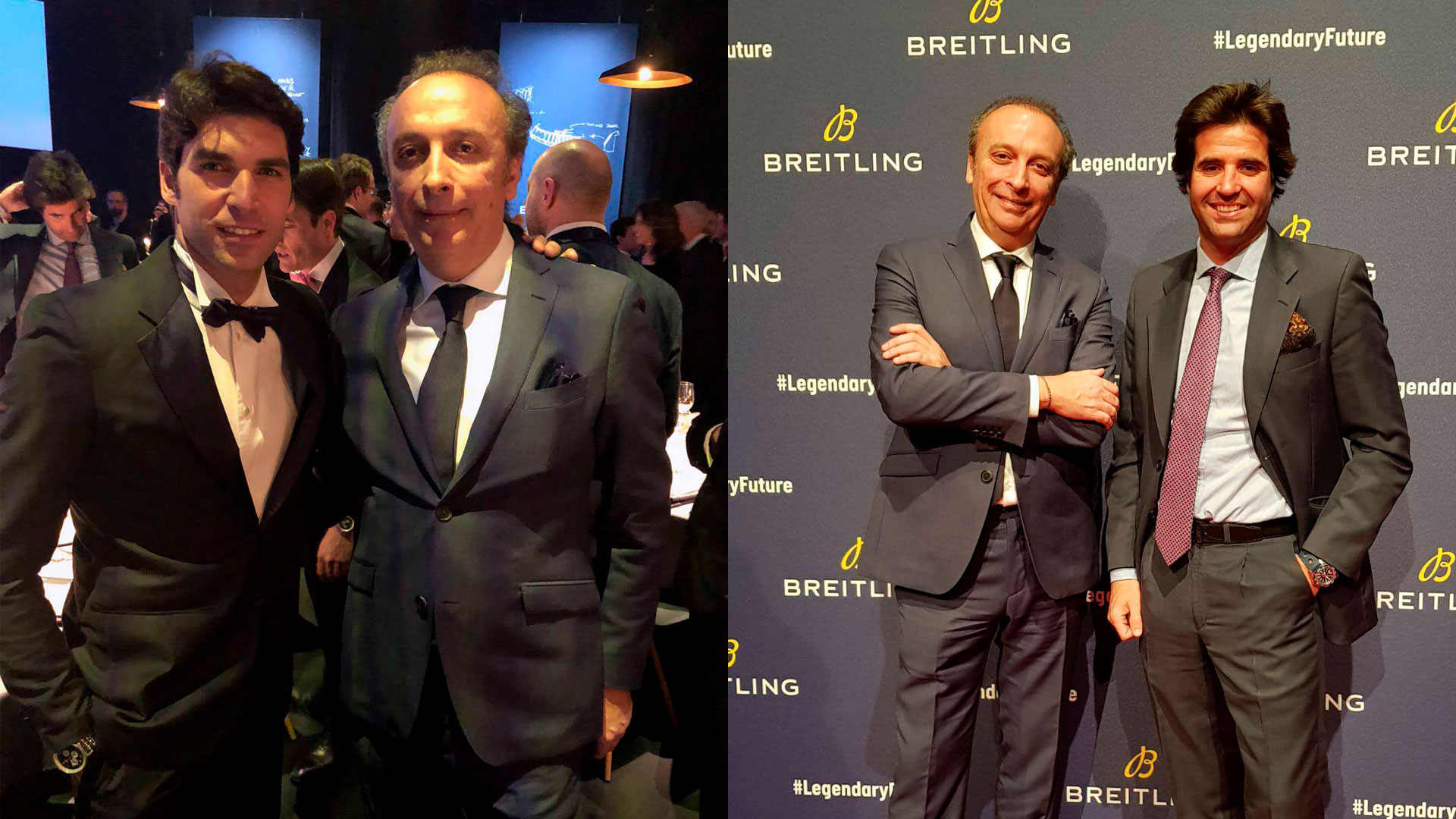 Andrés Calvo asiste a la Zúrich Breitling Roadshow.