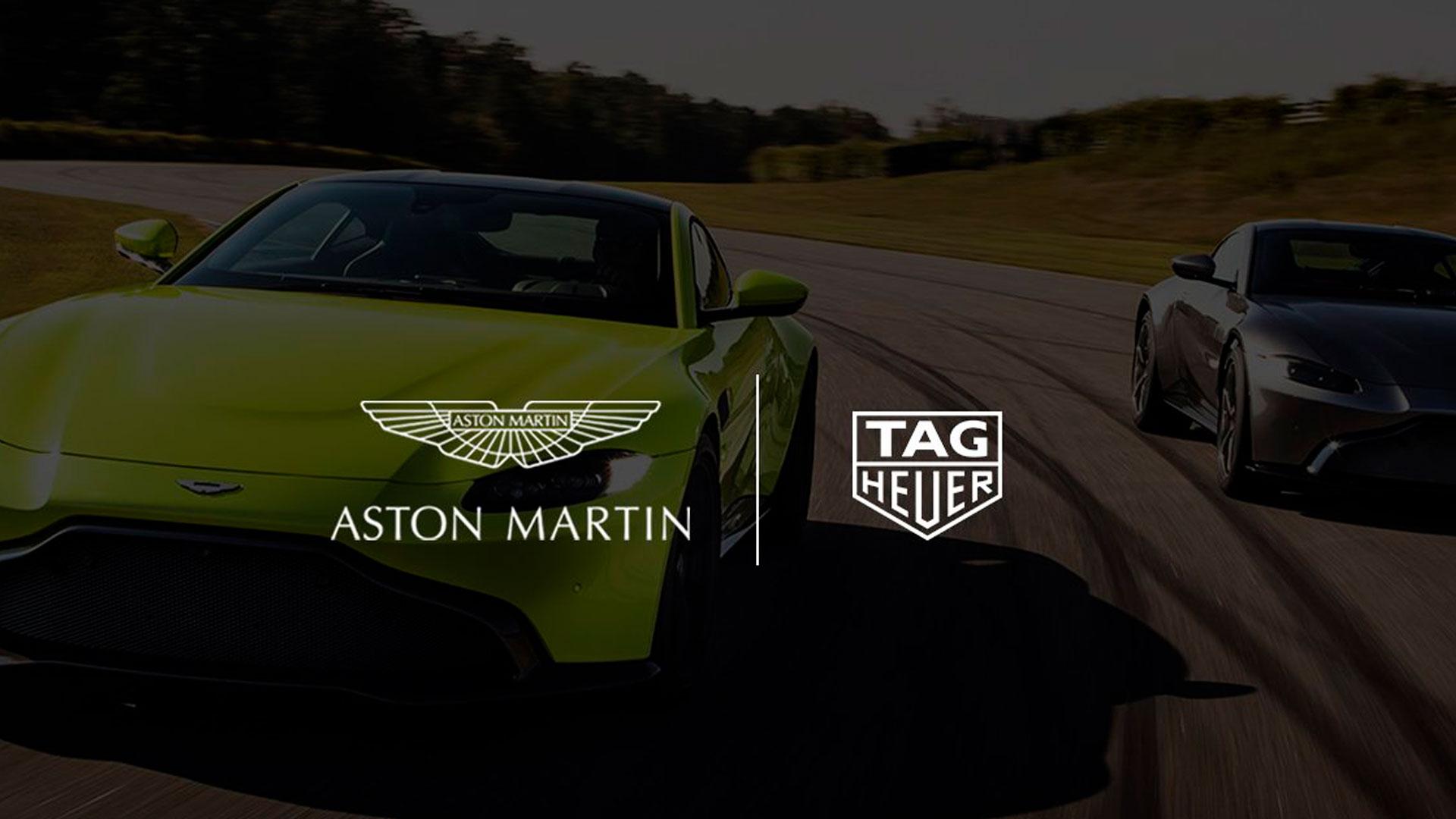 Tag Heuer Colaborador Oficial de Aston Martin