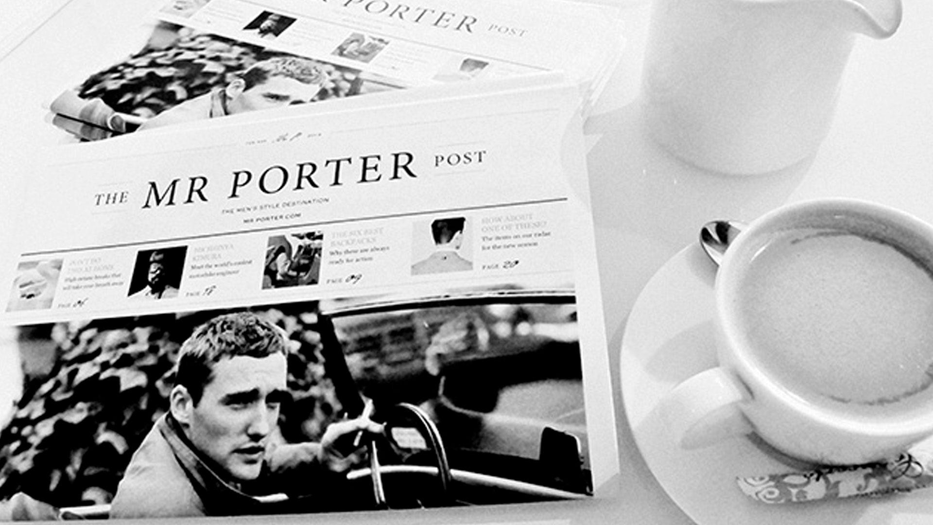 Breitling anuncia su colaboración con Mr. Porter.
