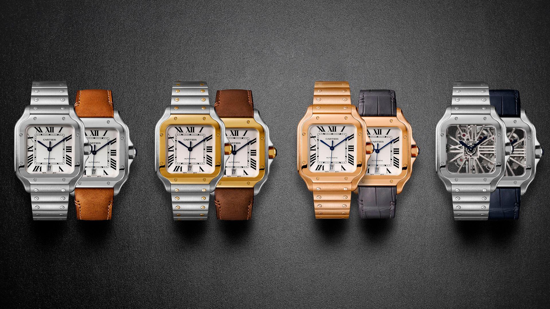 Santos de Cartier. Un diseño que simboliza la elegancia.