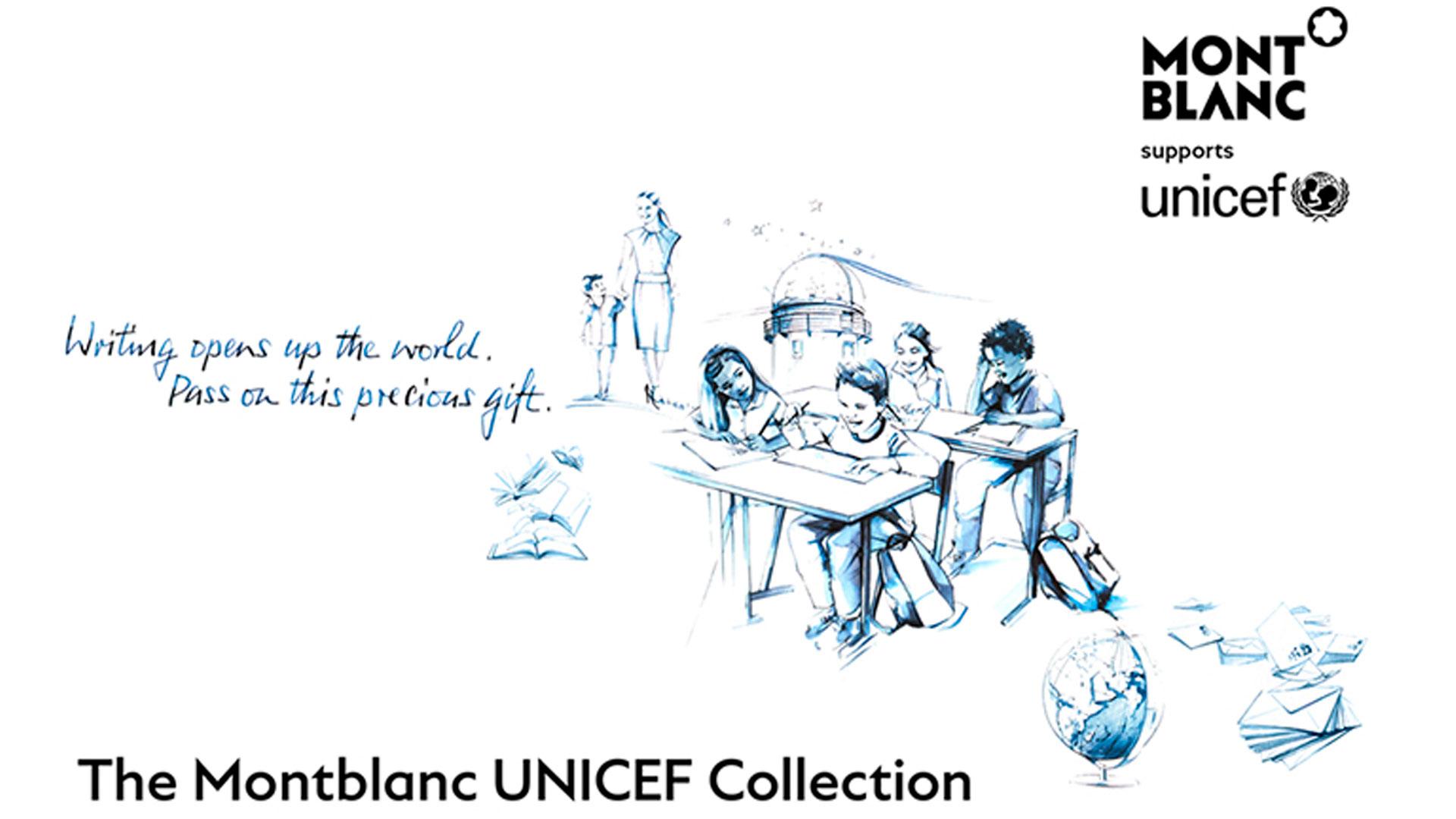 Montblanc Recauda Más de 1 Millón de Dólares Con Su Campaña a favor de UNICEF (Asociación Signature For Good)