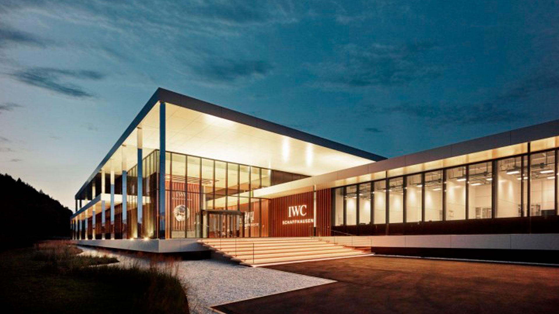 Inauguración del Manufakturzentrum IWC Schaffhausen