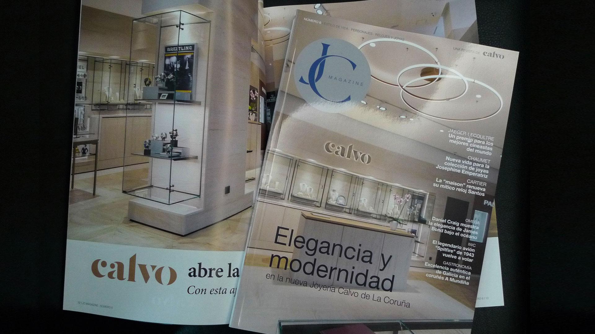 Navega por el Magazine de Joyería Calvo Nº6 - 2018