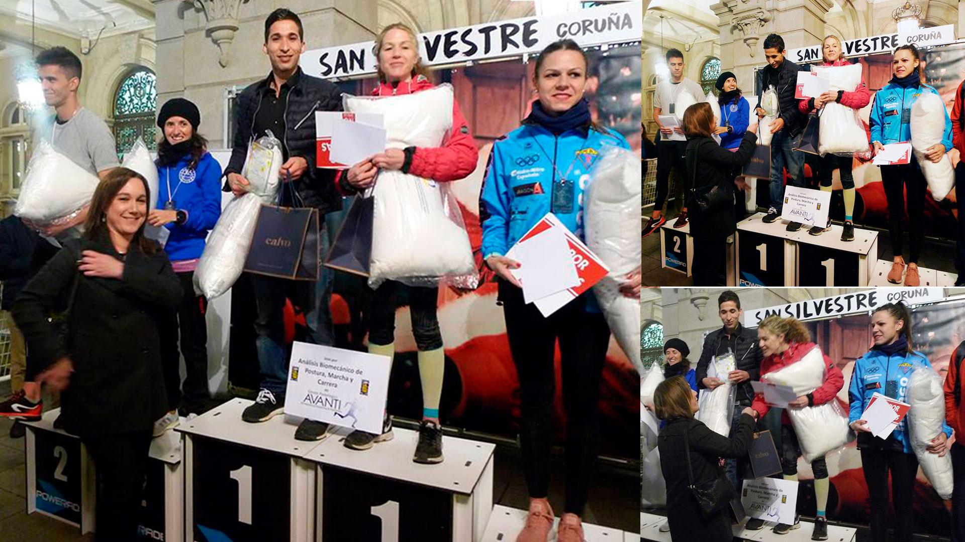 Joyería Calvo Premia al 1º y 2º Ganador de la IX San Silvestre Coruña con un Reloj Nixon