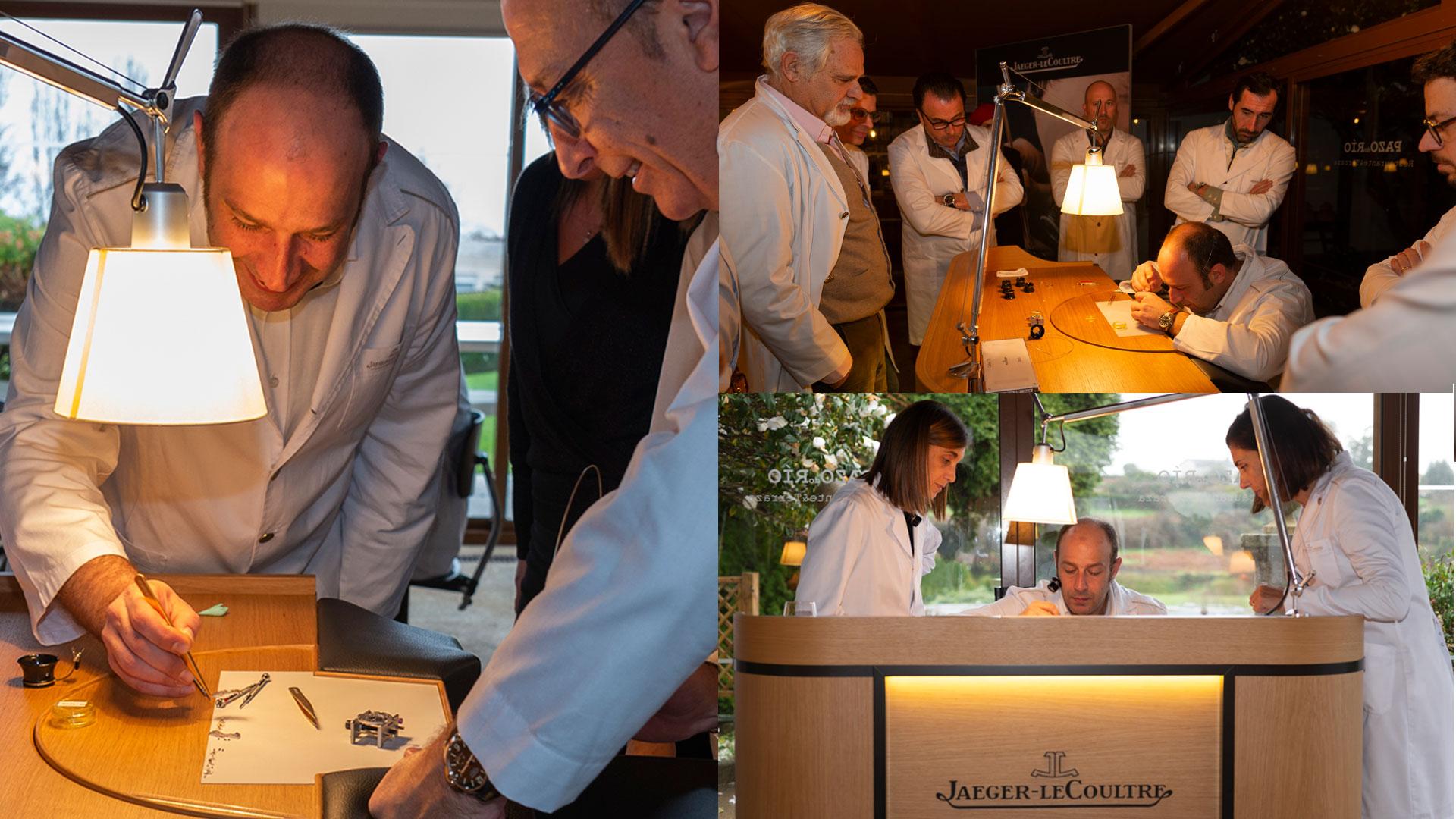 El Arte De La Precisión Jaeger-LeCoultre y Joyería Calvo Ofrecen Una Master Class Para Sus Clientes Entusiastas De La Alta Relojería