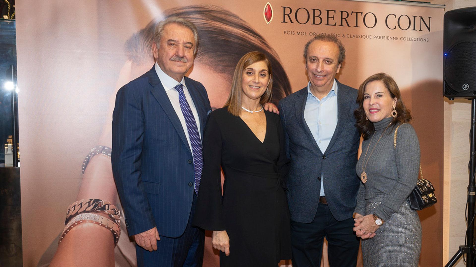 Roberto Coin presenta sus joyas más importantes en Joyería Calvo.