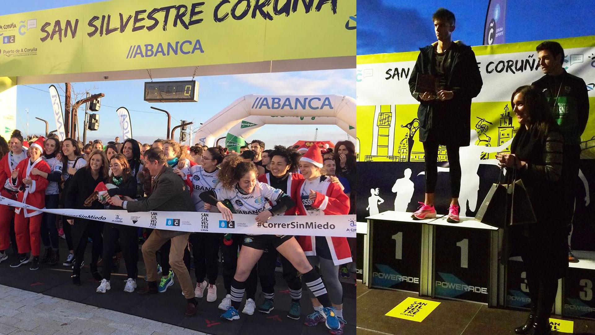 Joyeria Calvo Y Suunto Se Unen Colaborando Para Premiar A Los Ganadores De La X San Silvestre Coruña