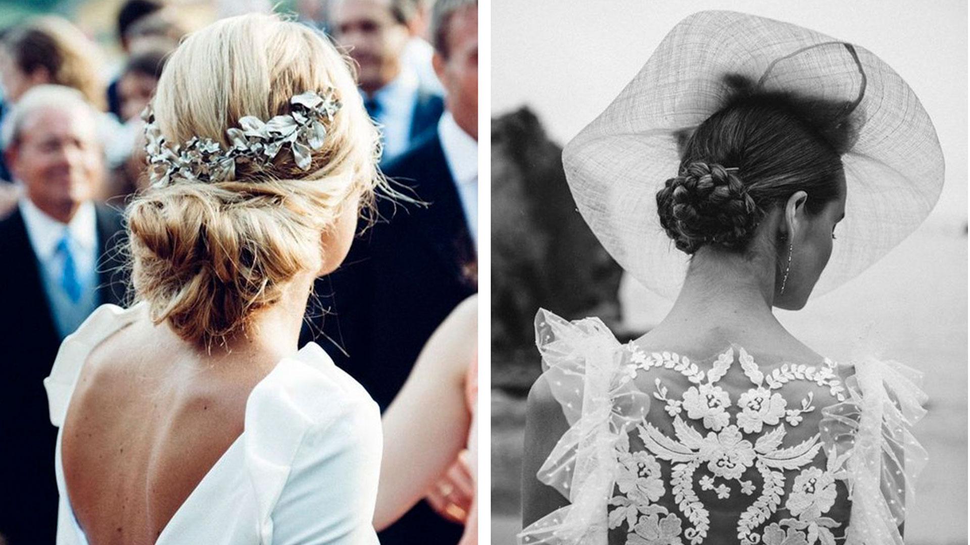 Asesoramiento: Un pendiente para cada peinado de novia.