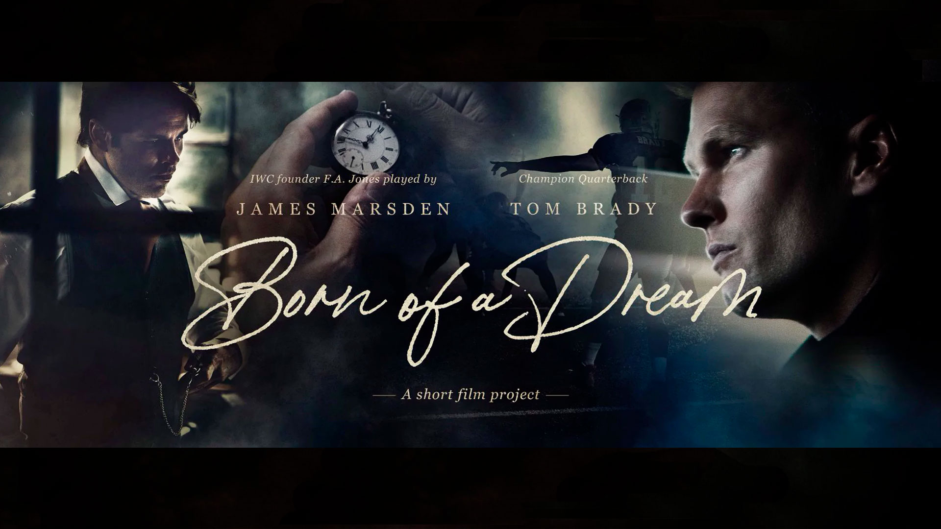 Cortometraje IWC. Born of a Dream: A Man of the Future