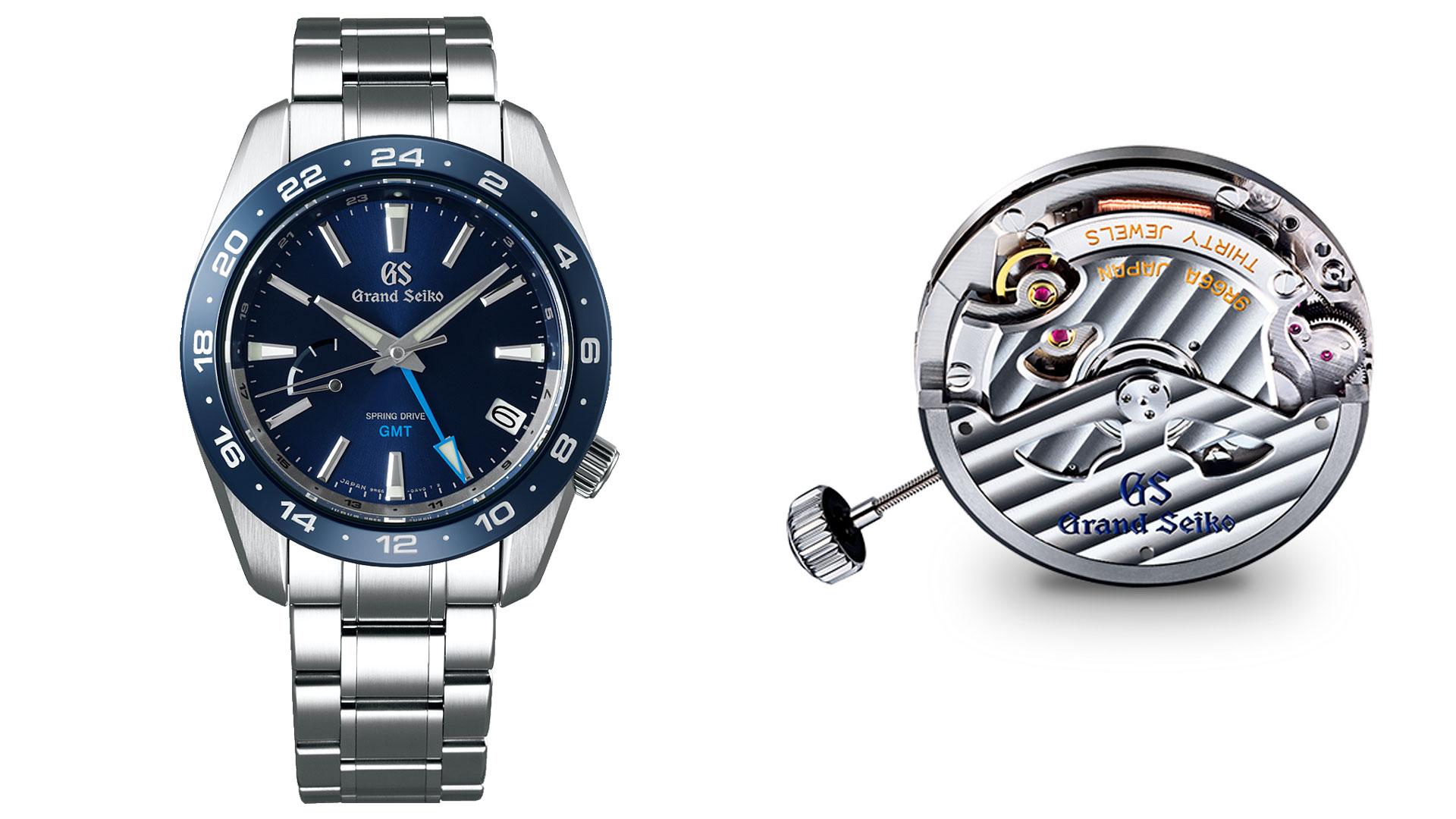 Movimiento Spring Drive de Grand Seiko.  La combinación perfecta de la relojería mecánica y electrónica.