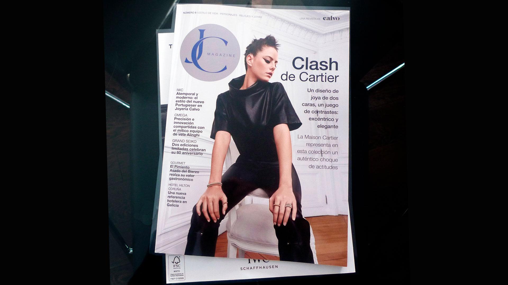 Edición Nueva de Revista JC Magazine Nº 8