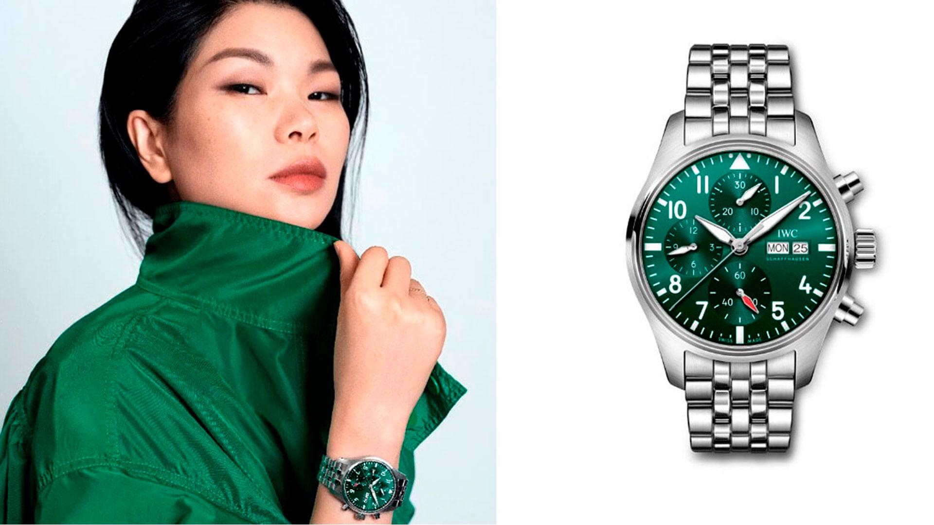 IWC presenta a la empresaria y ex-supermodelo Lu Yan, como nueva embajadora de la marca