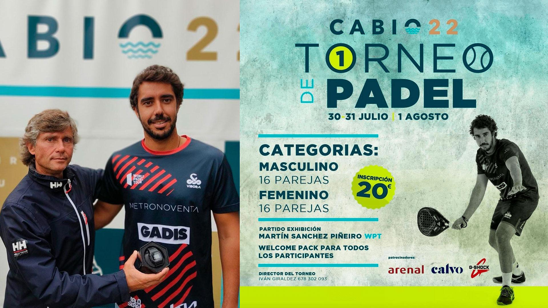 Joyería Calvo y Casio G-Shock Continúan Su Unión Para Premiar El Deporte, En El Torneo De Padel Celebrado En Cabío