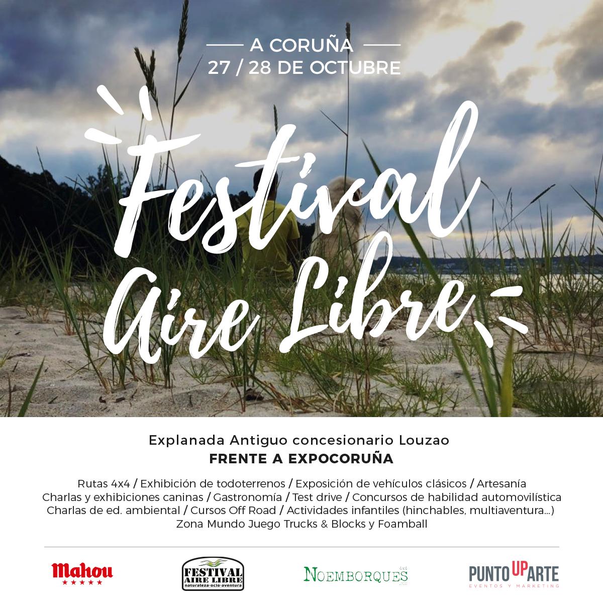 PRESENTACIÓN OFICIAL FESTIVAL AIRE LIBRE 2018