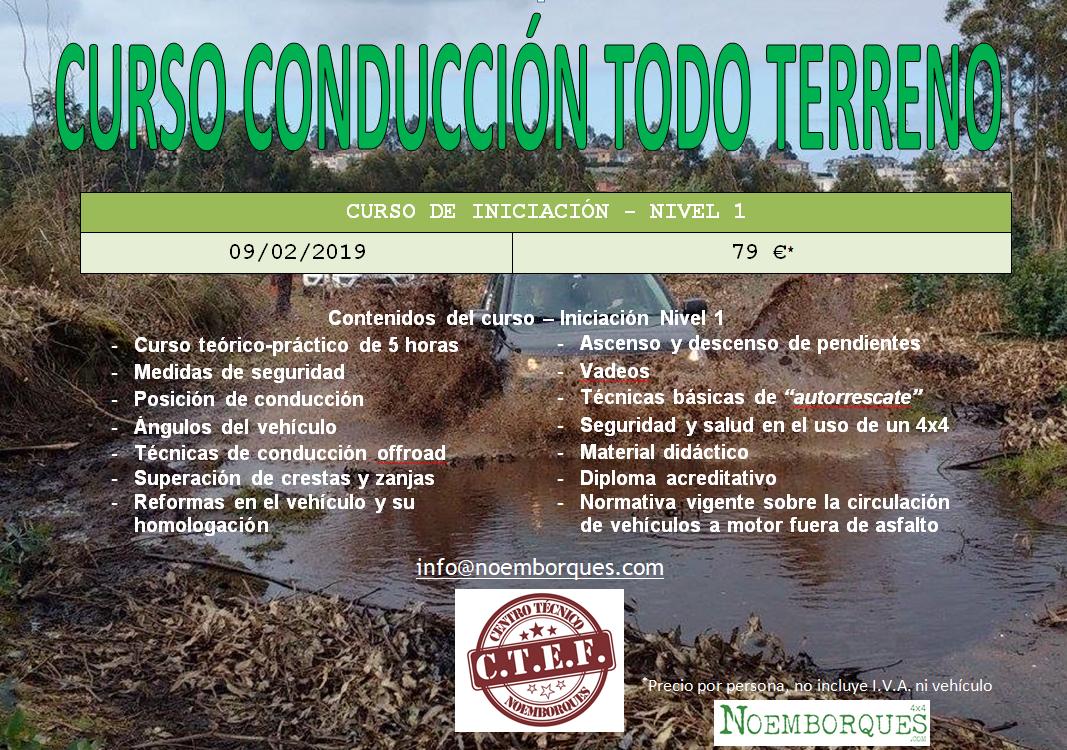 CURSO CONDUCCIÓN 4X4
