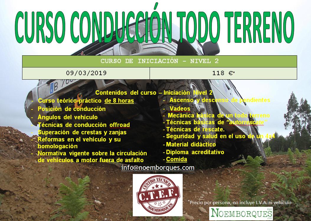 CURSO 4X4 EN CORUÑA