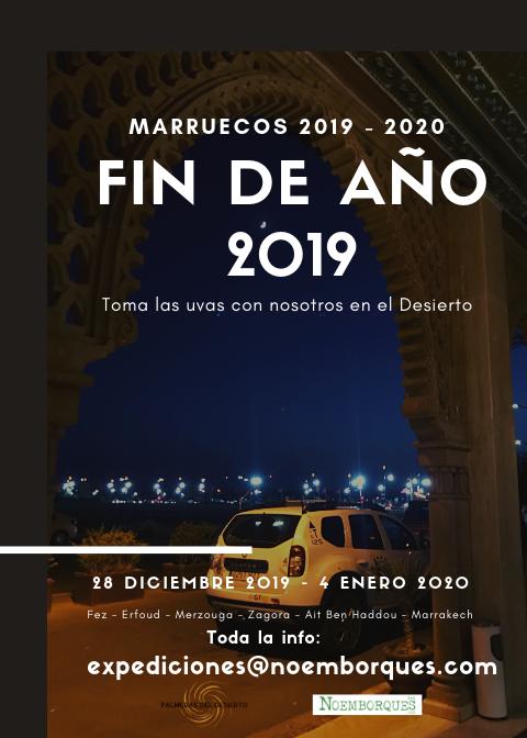 FIN DE AÑO 2019 EN EL DESIERTO