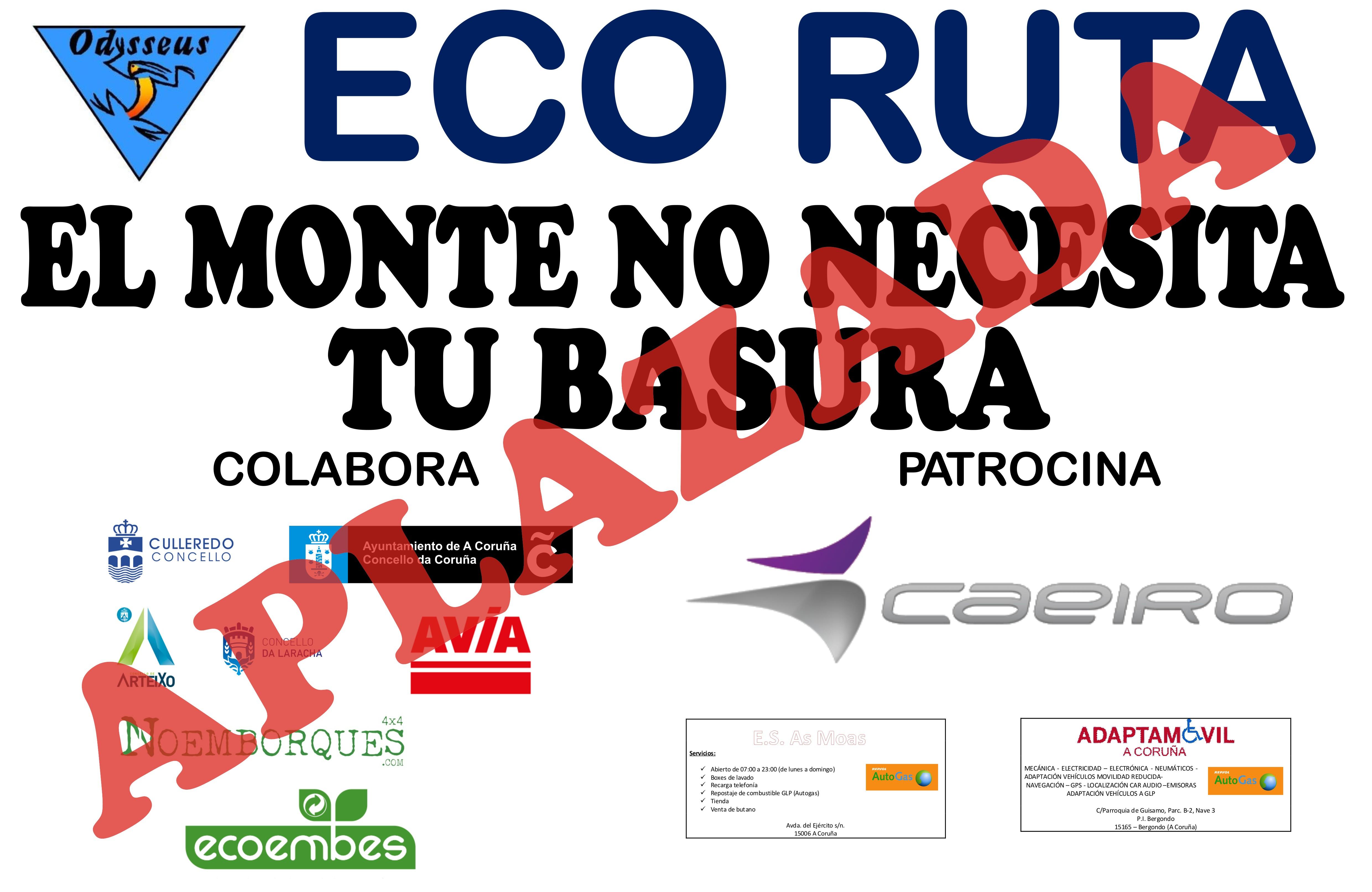 ECO RUTA 2020 APLAZADA