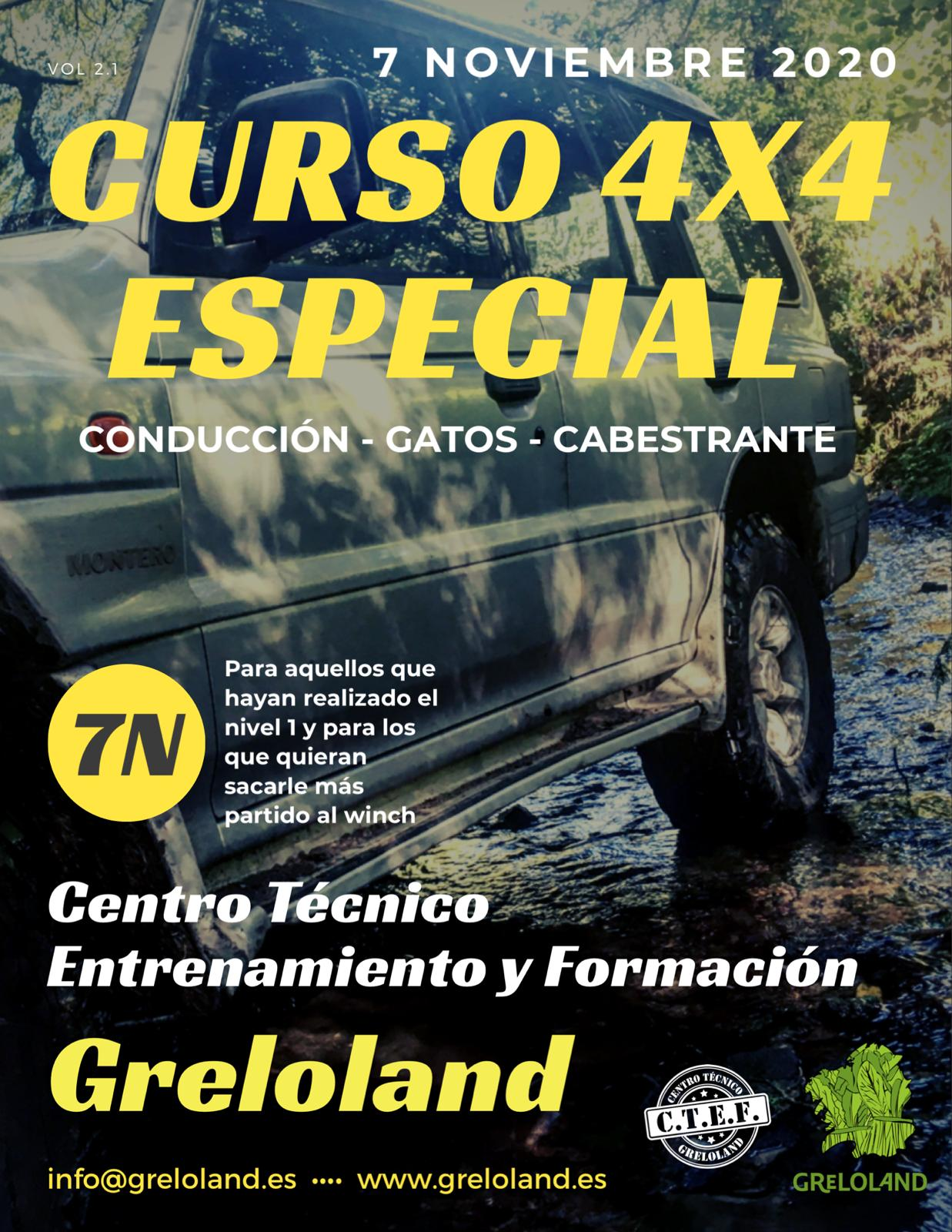 CURSO 4X4 ESPECIAL