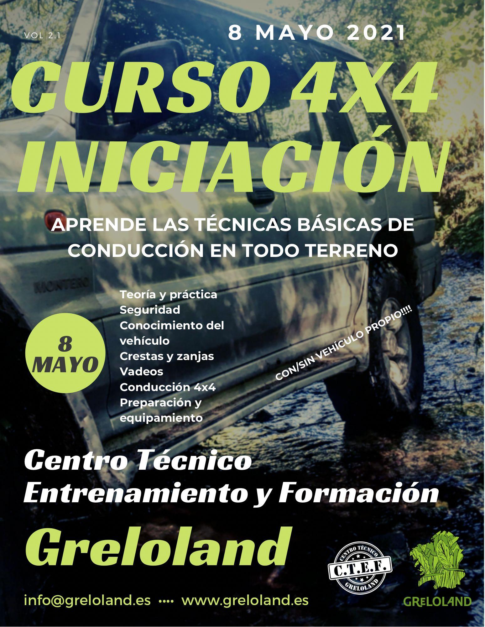 CURSO 4X4 EN A CORUÑA
