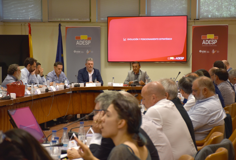 La  Asamblea de ADESP aprueba la reforma de estatutos y ratifica a José Hidalgo como presidente