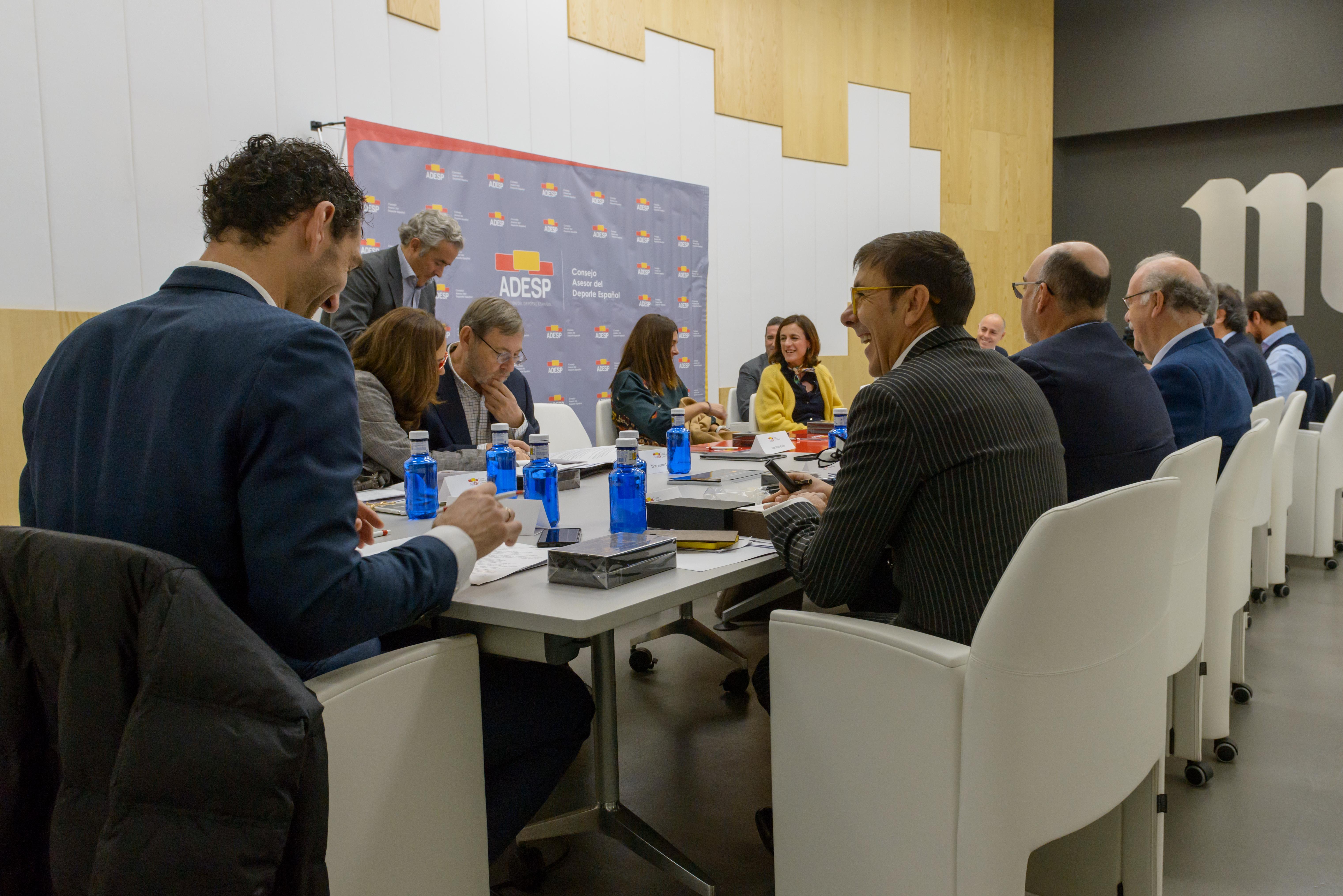 El Consejo Asesor del Deporte Español impulsa la primera ley de mecenazgo y patrocinio deportivo en España
