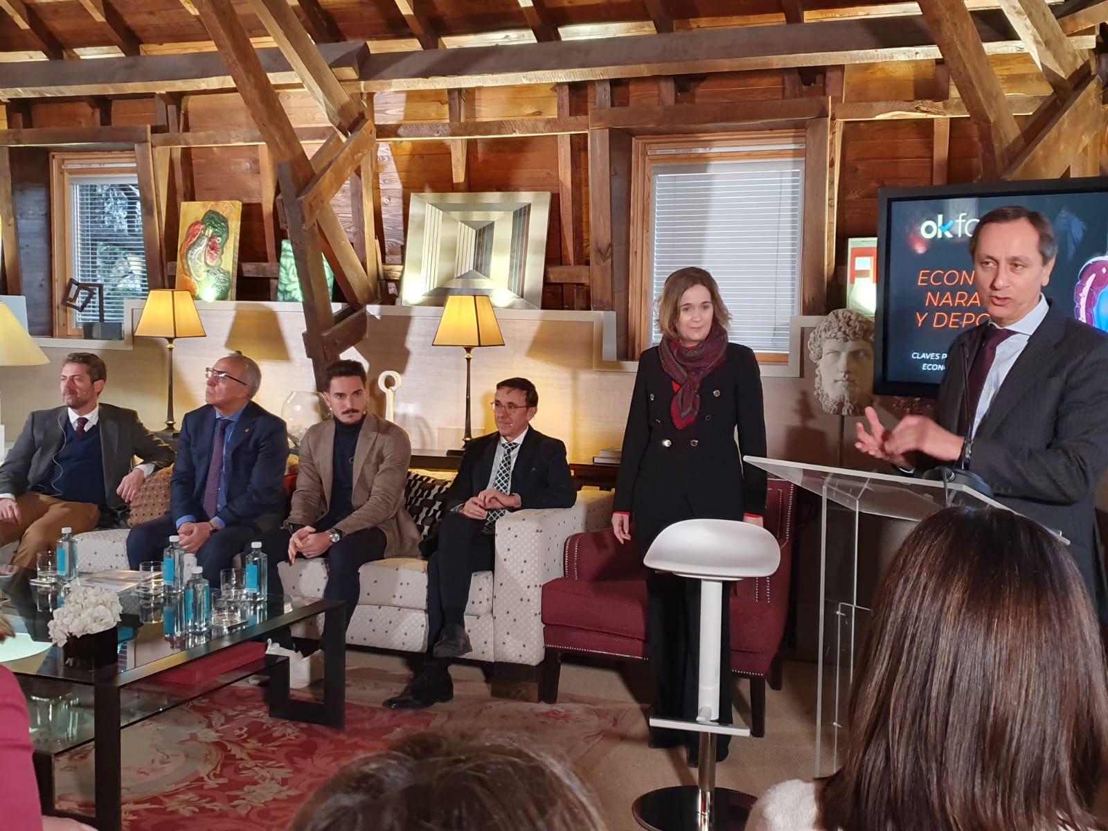 José Hidalgo, presidente de ADESP, participa en el foro de okdiario que habla sobre