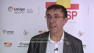 El presidente de ADESP sobre la importancia del reciclaje. I SIMPOSIO DE FEDERACIONES DE DEPORTES DE AGUA