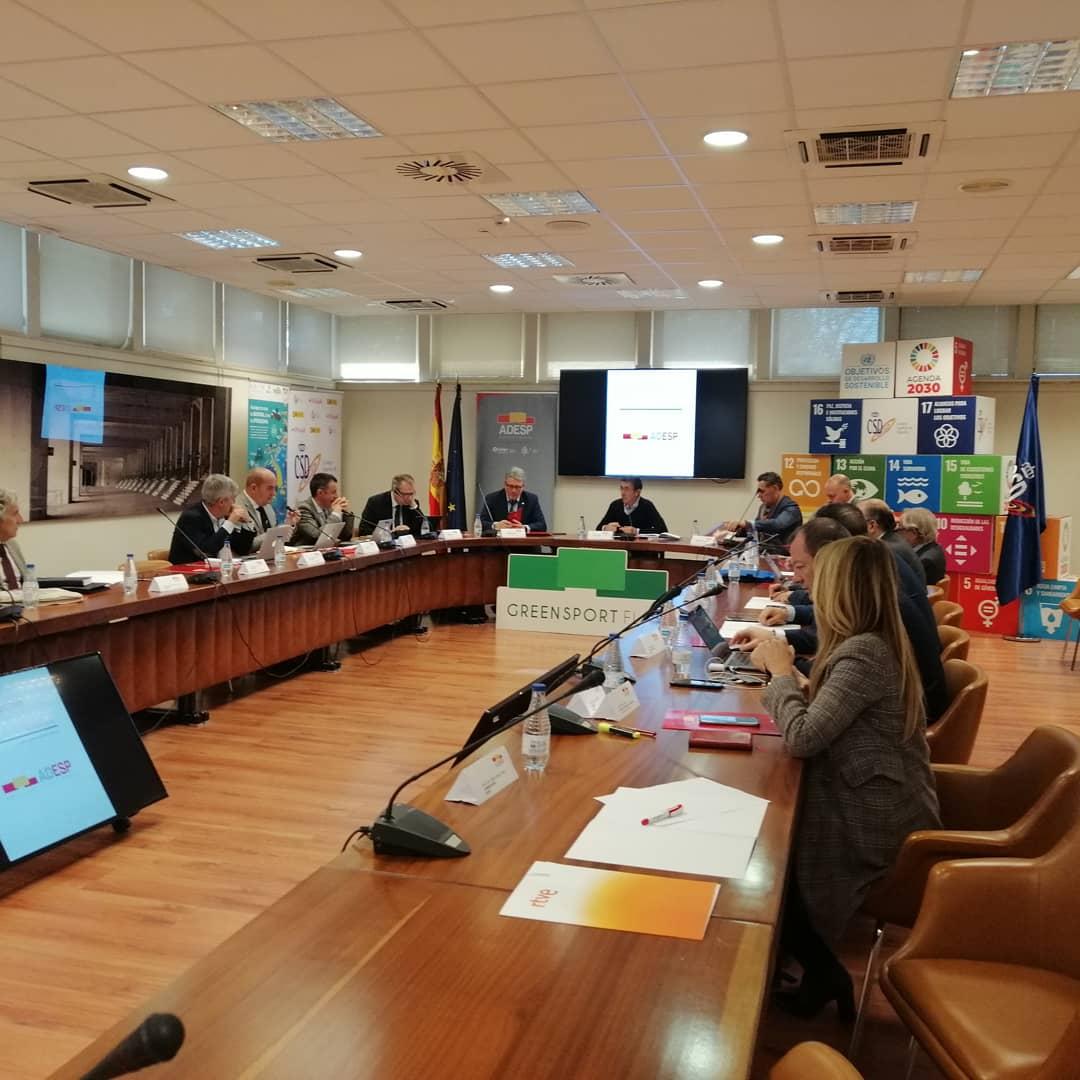 Reunión mensual de la Junta Directiva de ADESP