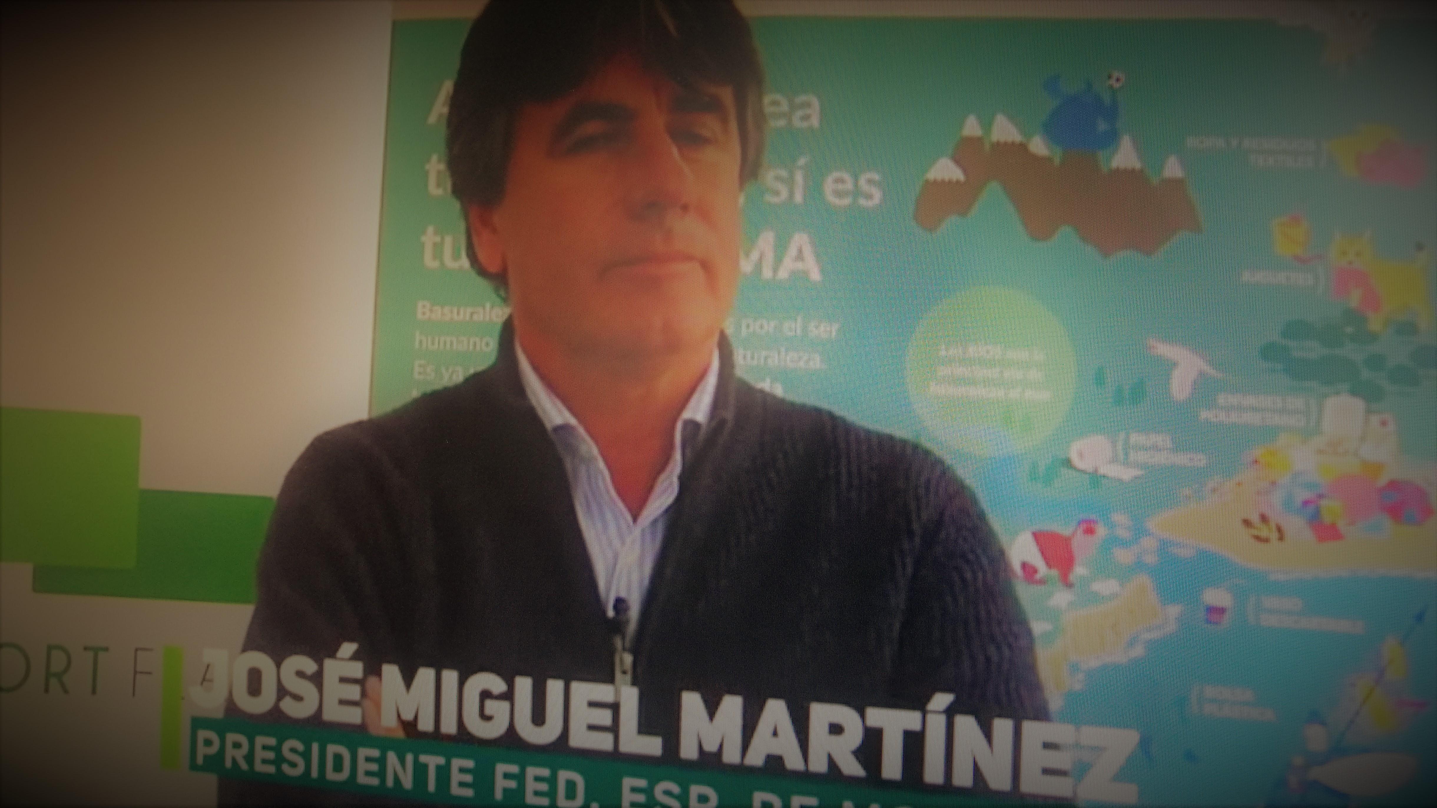 Miguel Martínez, Presidente de la Federación Española de Motonautica, analiza el I SIMPOSIO DE FEDERACIONES DE DEPORTES DE AGUA