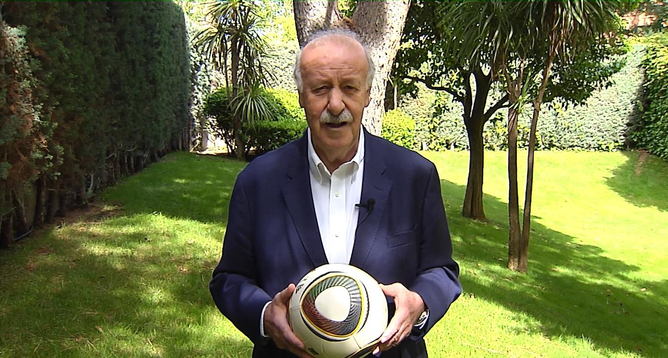 Vicente del Bosque, un grande del deporte español, se une a la campaña,