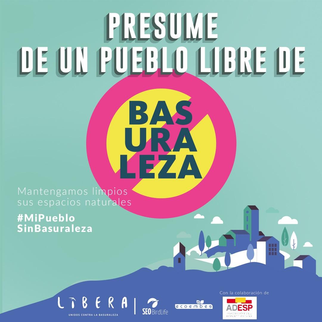 El #DeporteEspañol se suma a la campaña #MiPuebloSinBasuraleza.