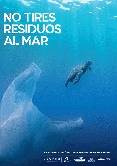 El #DeporteEspañol cuida de nuestros mares y no los ensucia.