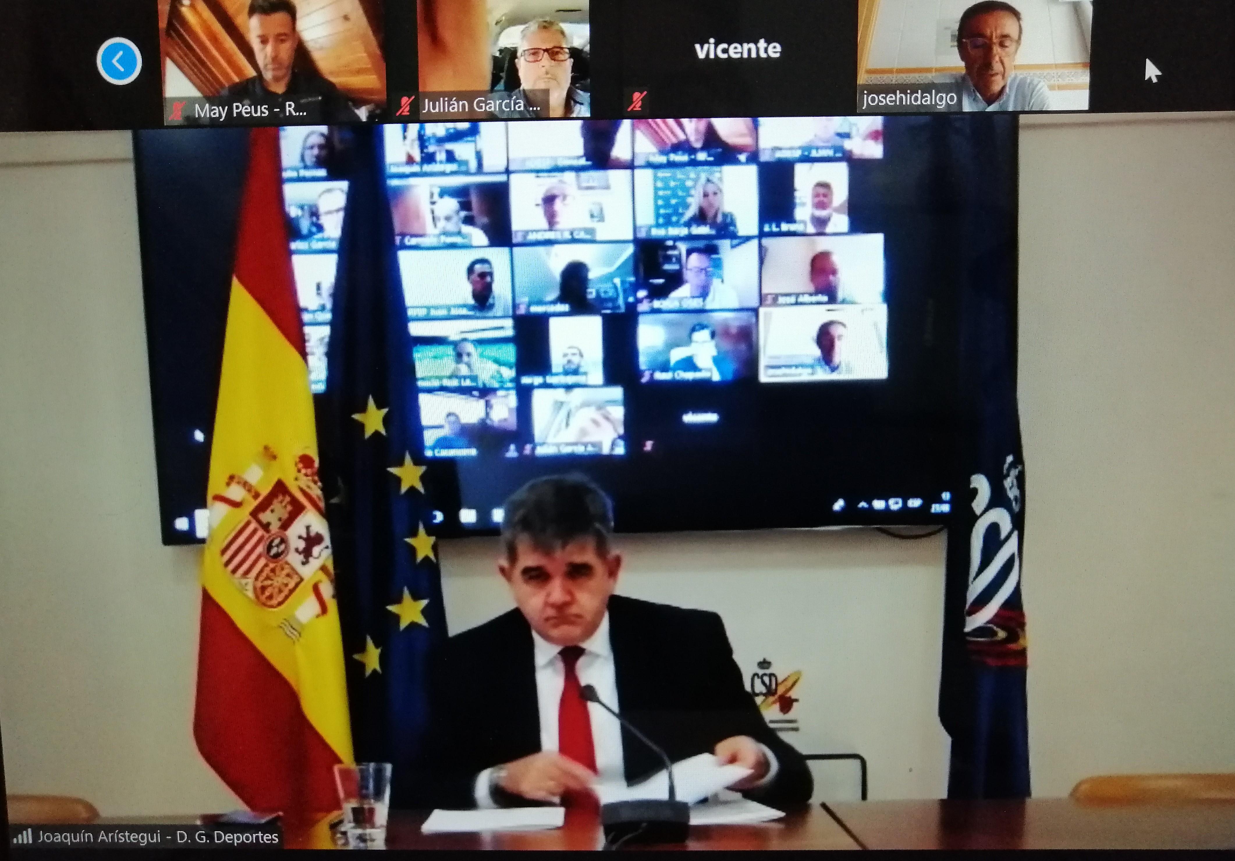 Reunión de la Junta Directiva de ADESP