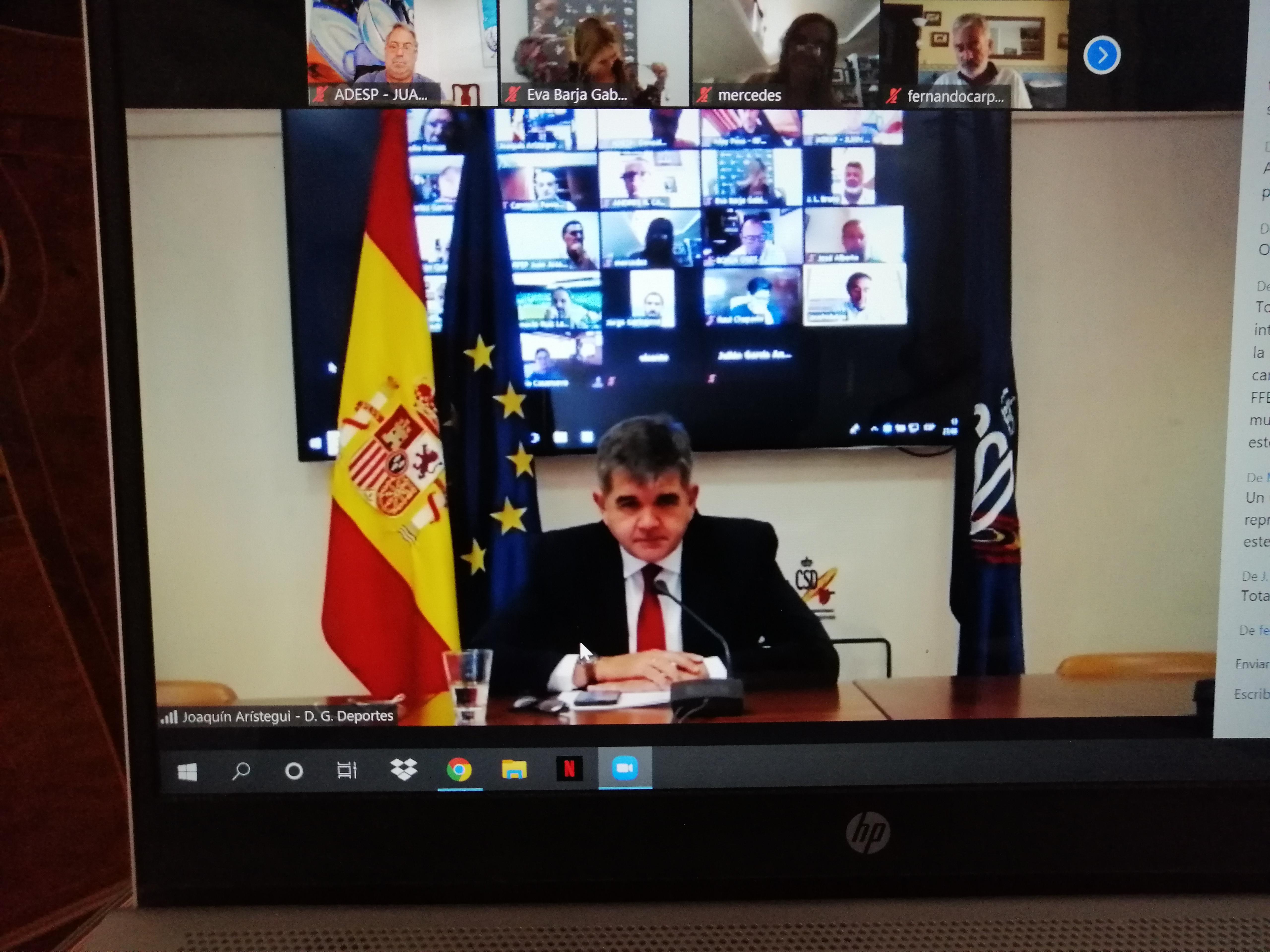 ADESP crea una oficina técnica para ayudar a las Federaciones Deportivas Españolas en el regreso a la competición