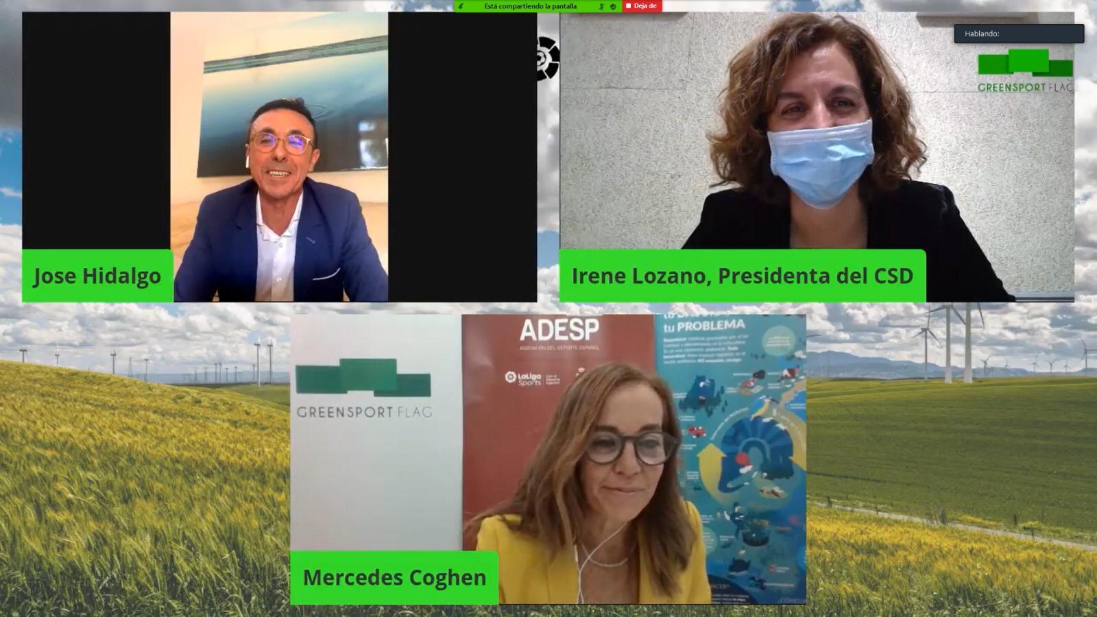 Irene Lozano inaugura el primer Foro Green Sport Flag y destaca la importancia del Deporte para ayudar en el desarrollo rural de España