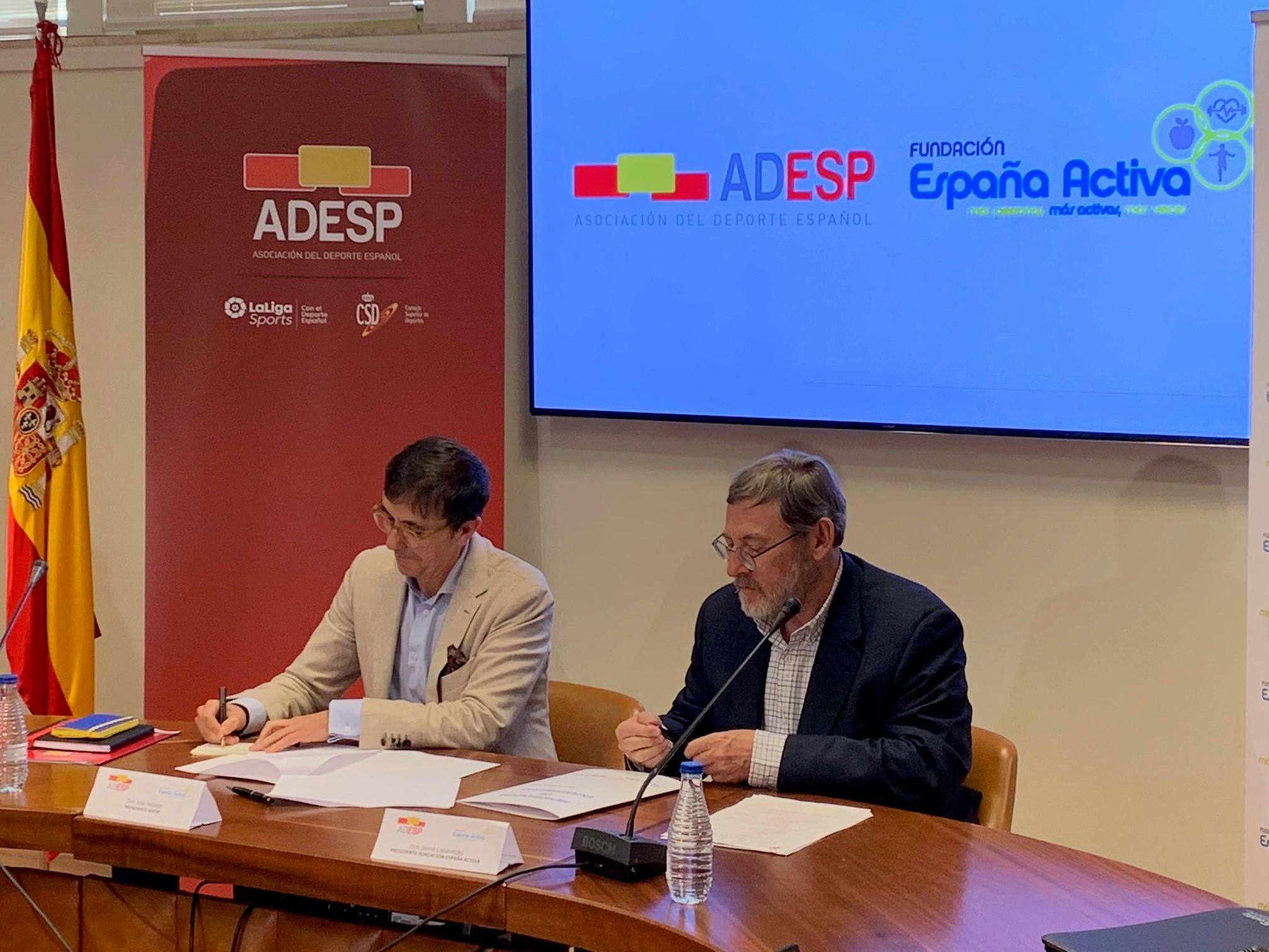 El Congreso asume la reivindicación de la Fundación España Activa y ADESP, y propondrá al Gobierno crear un Plan para la Transformación Digital del Deporte