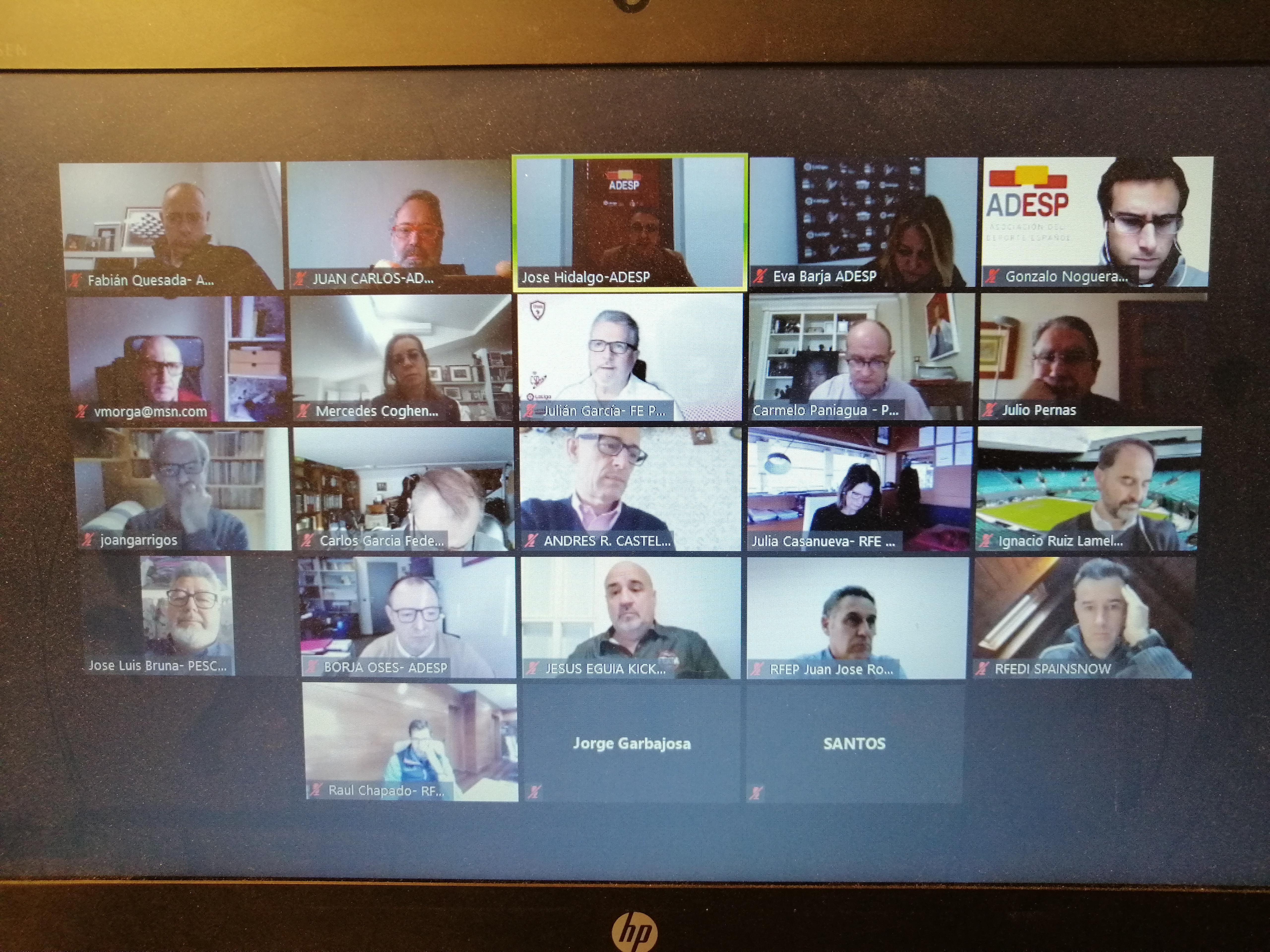 Nueva reunión de la Junta Directiva de ADESP