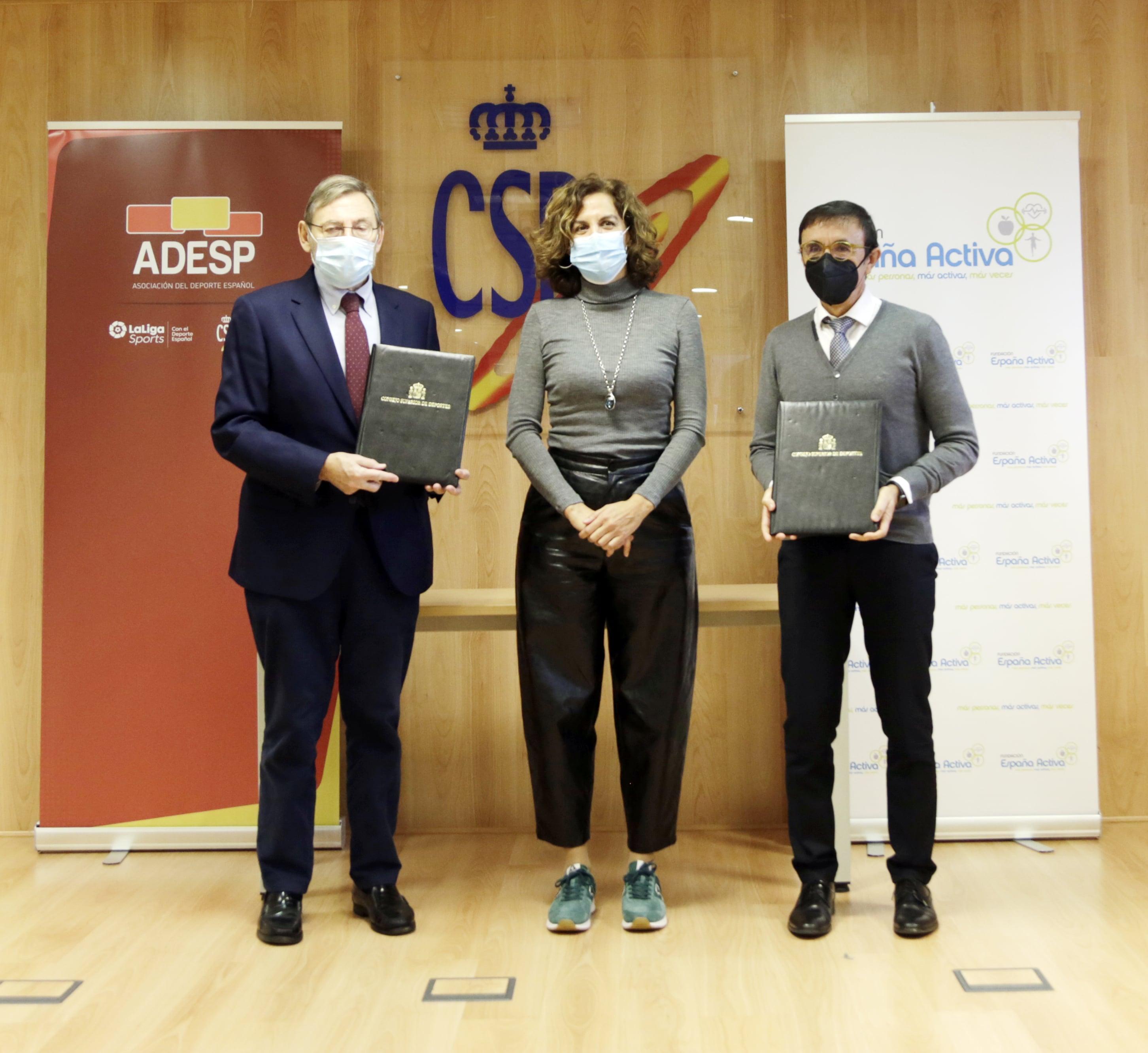 Nace la Plataforma España Deporte con el primer objetivo de combatir el impacto del Covid en el sector