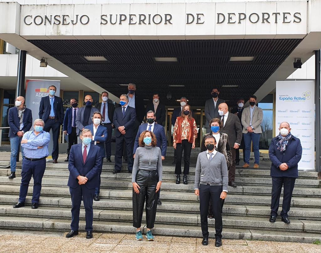 ADESP agradece el trabajo de Irene Lozano al frente del Consejo Superior de Deportes y la confianza depositada en nuestra entidad