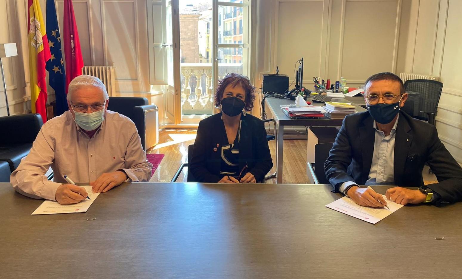 El Instituto Navarro del Deporte y la Asociación del Deporte Español firman un convenio de colaboración